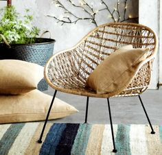 Comet Basket Chair –