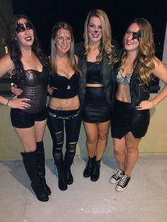 KISS Halloween group costume