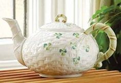 Belleek Fine China Teapot