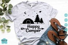 Camping SVG Bundle (Graphic) by creativespace · Creative Fabrica Camping Hair, Camping Life, Flower Tattoo Drawings, Happy Campers, Graphics, Creative, Graphic Design, Charts