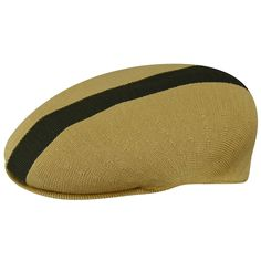 83c76c3af12 KANGOL Men s Hat K3132HT Path Stripe 504 Flat Cap Biscuit Sizes  S - XL