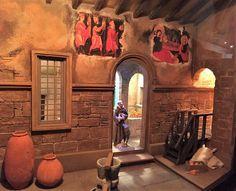 Cadiz, Bethlehem, Byzantine, Fresco, Nativity, Clever, Scene, Interior, Painting