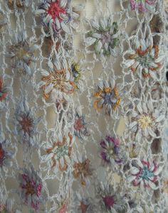 Melancholia scarf — French Needlework Kits, Cross Stitch, Embroidery, Sophie Digard — The French Needle