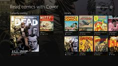Cover // Cover, the best Windows app to read and manage your comic books. The Walking Dead, Batman, X-Men, Largo Winch, Asterix, Naruto, One Piece, ... Enjoy your whole library, wherever you are. Cover handles the most common file types such as CBR, CBZ, PDF, EPUB largo winch, window app, walking dead, comic book, walk dead