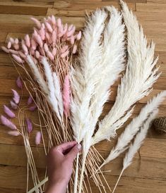 Dried Flowers Bouquet Lamboo Dried Flowers Dried Bunny Tail Grass Silicone Gel For Drying Flowers Lavender Flowers, Fake Flowers, Dried Flowers, Beautiful Flowers, Dried Flower Bouquet, Flower Bouquet Wedding, Grass Centerpiece, Flower Decorations, Wedding Decorations