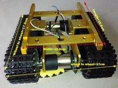 Arduino Tank Caterpillar Tractor Chassis Crawler Intelligent Robot