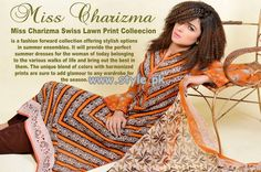 Charizma Swiss Lawn Collection 2013 Volume 2