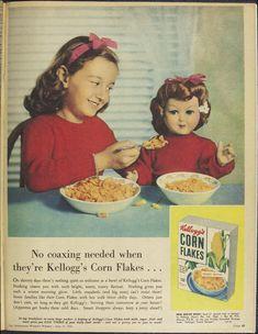 Issue: 27 Jun 1956 - The Australian Women's Wee. Corn Flakes, Creepy Dolls, Vintage Ads, Winnie The Pooh, Nostalgia, Jun, Kitchens, Winnie The Pooh Ears, Vintage Advertisements