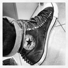 John Varvatos x Converse All Star Spiked Chucks