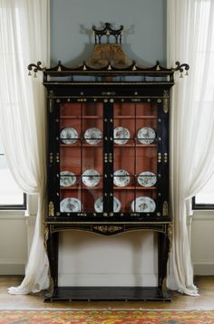 Nineteenth-century chinoiserie: Cabinet (originally used as a bookcase) at Castle Coole, Co. Fermanagh. National Trust Picture Library/Andreas von Einsiedel