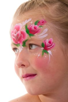 face painting designs for kids printable | It's a Princess Thing: Fairy Face Painting for a Fairy Party