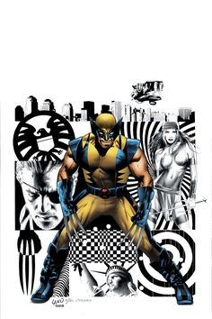 """WOLVERINE #27 Written by Mark Millar Penciled by John Romita Jr. Cover by Greg Land """"AGENT OF S.H.I.E.L.D."""""""