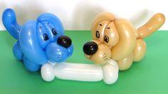Как сделать маленькую собачку, щенка, из одного шарика ШДМ. Можно сделать браслет. How to make a cute puppy dog of one balloon. It can be a bracelet. Designe...