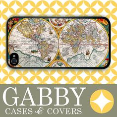 iPhone 4s Case iPhone 4 Case iPhone Case Old World by GABBYcases, $14.99