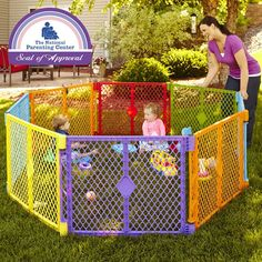 Safe Enclosed Play Area Child Pet Indoor Outdoor Kids