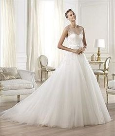 Order a Pronovias Ola Bridal Gown at The Wedding Shoppe today
