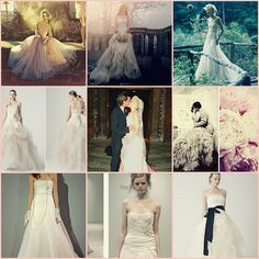 the wedding: dress inspiration