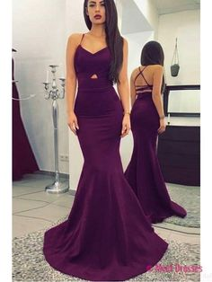 long prom dresses,sexy prom dresses,mermaid prom dresses, spaghetti straps evening dresses, pageant dresses PD20188499