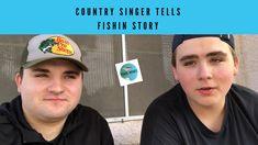 Country Singer Drew Parker Tells Fishing Stories. - YouTube