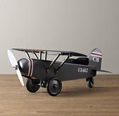 Vintage Army Plane Scoot - are you kidding me with this awesomeness?  If I only had an endless money supply...:)