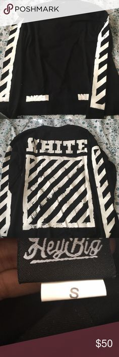 Off White Longsleeve UA off white longsleeve like new Off-White Shirts Tees - Long Sleeve