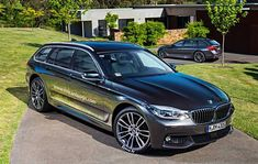 2017 BMW 5 Series G31 Touring Rendering