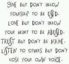 ~* Give~ Love~Trust~Listen *~