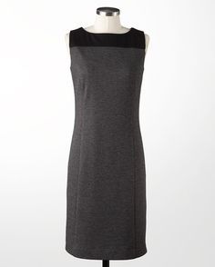 Colorblock sheath dress - [K14816] ... Shift+R improves the quality of this image. CTRL+F5 reloads the whole page.