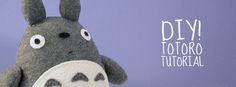 sew your own Totoro!  Squeee!