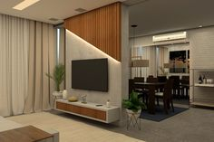 Lcd Unit Design, Modern Tv Unit Designs, Tv Unit Interior Design, Interior Design Your Home, Tv Unit Furniture Design, Tv Unit Bedroom, Living Room Wall Units, Living Room Tv Unit Designs, Bedroom Tv Unit Design