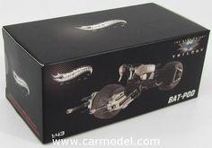 MATTEL HOT WHEELS X5496 1/43 BATMAN BAT-POD - THE DARK KNIGHT RISES