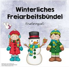 Winter free work package (additions) Last year there was already a … - Arbeitszimmer Montessori, Thing 1, Classroom Management, Packaging, Teaching, Education, Free, School Stuff, Nature