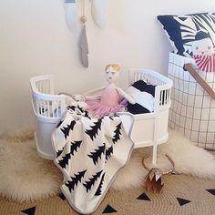 Bett Puppenbett Smallstuff weiss