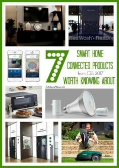 7 Smart Home Connected Products from #CES2017 Worth Knowing About on TechSavvyMama.com