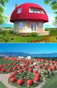 My sister woulda LOVED this! She loved Shrooms! This is a Shroom House!