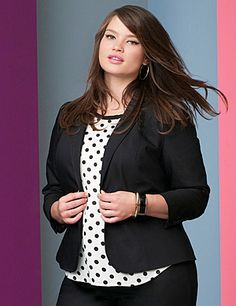 Project professional polish with our double weave stretch suit jacket. Synthetic double-woven construction is ultra durable with an elegant polish that takes you anywhere, and stretches to fit without stretching out. Designed to flatter, you'll love the way you look in this structured jacket with contoured fashion seams, notched lapels, double-button closure and long sleeves. Two welt pockets complete the look. Create your wow-worthy power suit when you pair it with the Double Weave Ankle…