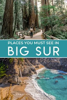 Ready to explore beautiful Big Sur, California? Be sure to read this extensive local's guide to hiking Big Sur, where to eat, how to support the community and find amazing local artisans, how to drive Big Sur California, California Places To Visit, Northern California Travel, Beautiful Places In California, Monterey California, California Camping, California Vacation, California Coast, Cool Places To Visit