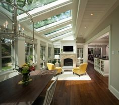 domestic glass roof - Google Search