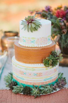 Southwestern wedding cakes