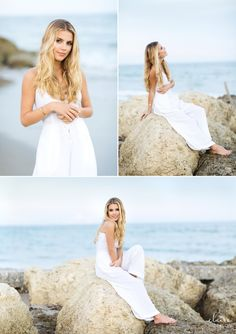 Senior pictures for girls spring style beach senior pictures white dress ocean Photography Awards, Candid Photography, Documentary Photography, Beach Photography Poses, Photography Shop, Product Photography, Street Photography, Portrait Photography, Palm Beach