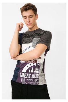 70b5504b97 24 mejores imágenes de Hombre Desigual  Camisetas