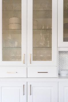 Mar 17 the short list: current cabinetry obsessions light cabinet with brass wire mesh panel insert < The post Mar 17 the short list: current cabinetry obsessions appeared first on Metal Diy. light cabinet with brass wire mesh panel insert Metal Kitchen Cabinets, Plywood Cabinets, Stock Cabinets, Built In Cabinets, Cupboards, Kitchen Cabinet Door Styles, Walnut Kitchen, Glass Cabinet Doors, Classic Kitchen