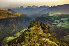 Sämen-Nationalpark in Äthiopien