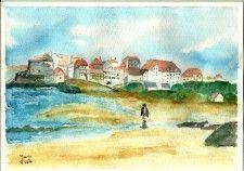 Promenade sur la plage du Touquet
