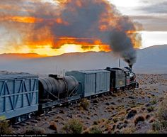 RailPictures.Net Photo: 101 Ferrocarriles Argentinos Steam 2-8-2 at Norquinco, Argentina by John West