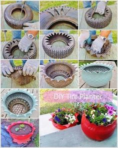Do you might have an previous tire mendacity in your house that's of no use to you? If sure then give it a second life as a planter. To make a tire planter first rigorously make cuts within the previous tire in a zigzag method with a pointy knife as …