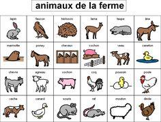 El blog de aprender francés: VOCABULAIRE - Les animaux
