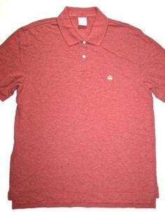 ON SALE 50% OFF Vintage Brooks Brothers Mens Polo Shirt Size Medium $15.00
