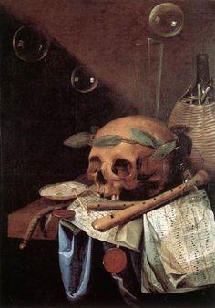 Simon RENARD DE SAINT-ANDRÉ (1613-1677) Vanité - peinture c.1650