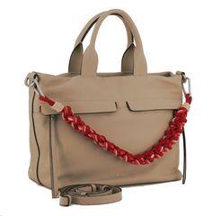 Hobo Bag, Rebecca Minkoff, Beige, Dune, Leather Bag, Handbags, Silver, Ash Beige